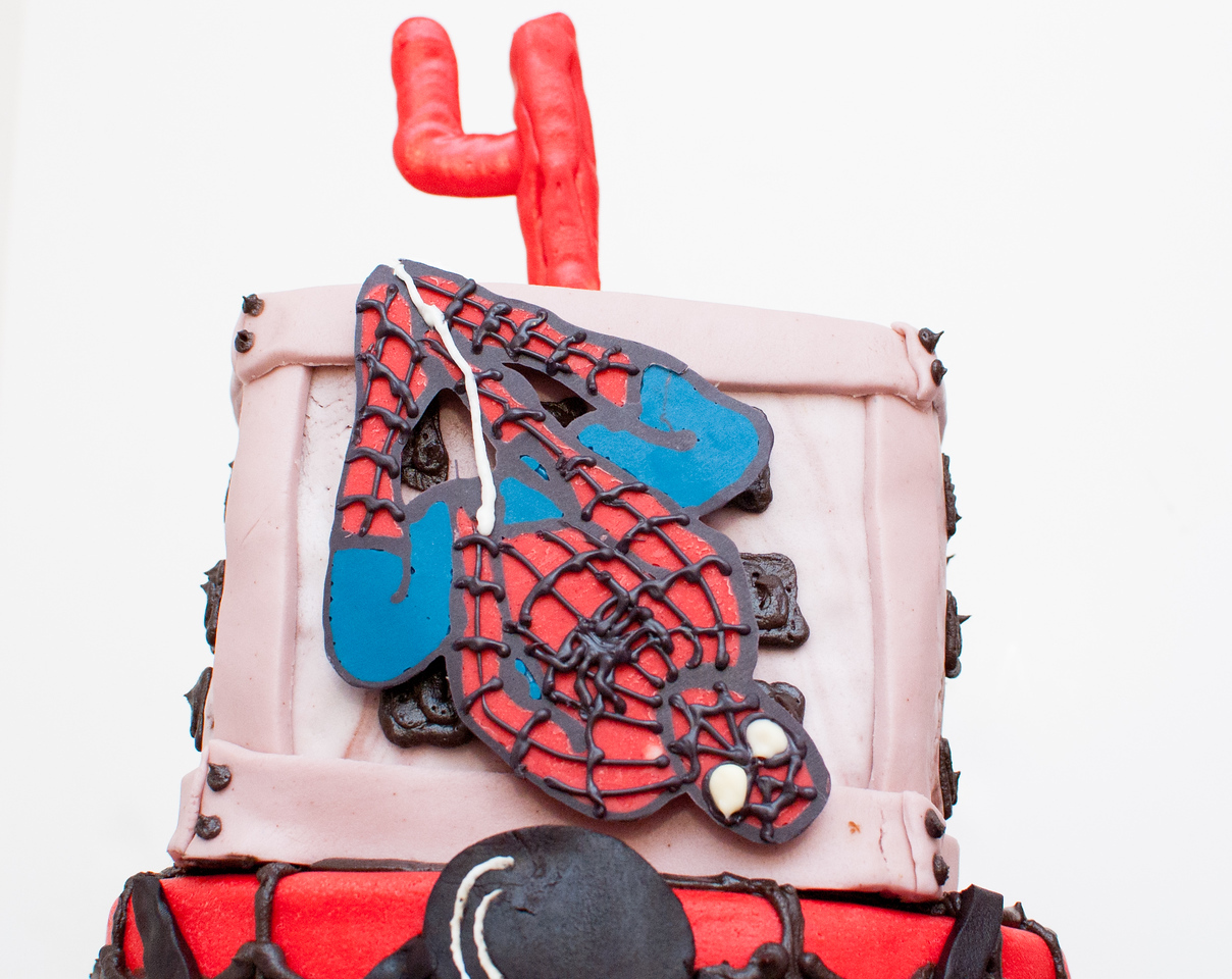 Spiderman birthday cake, spiderman birthday, spiderman, marvel, comic, chocolate spiderman